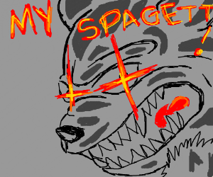TFW your spagett is touch