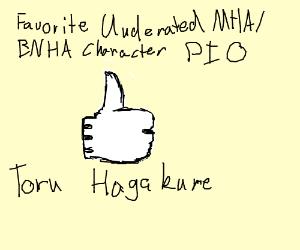 Favorite Underated MHA/BNHA Character PIO