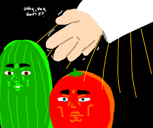 Bob and Larry (Veggietales) turn away from God