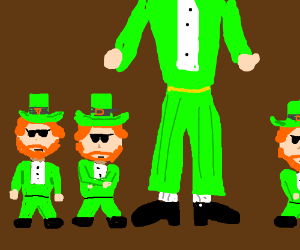 A traitor within the leprechaun mafia.