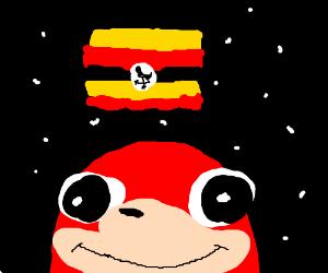 ugandan knuckles IN SPACE