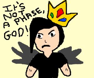 Emo king fallen angel drawing by mrhappysadass emo king fallen angel thecheapjerseys Image collections