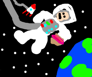 Just some Foods in Space Man