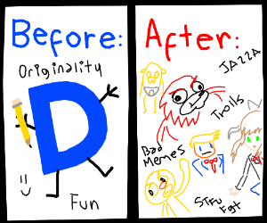 Past and present of Drawception
