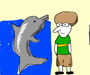 Fiol and dolphin (search on google images)