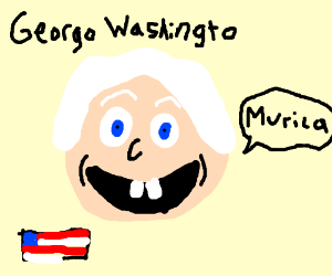 Georgo Washingto (Ripoff President)