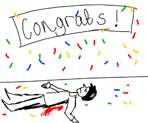 Congrats, you are dead.