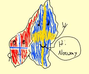 Sweden says Hi!