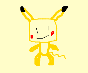 sack boy pikachu