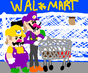 Wario and Waluigi go to Walmart