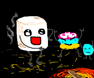 Living marshmallows