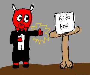 Satan endorses Kidz Bop