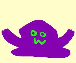 Purple blob guy