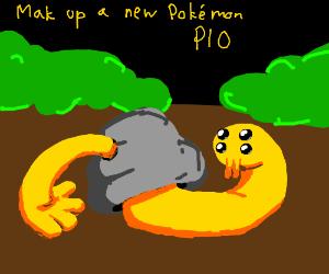 Make up a pokemon (Pass it on)