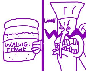 waluigi thyme joke