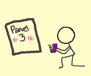 Marry me, Panel 3!!!