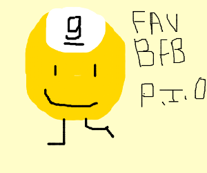 Favorite BFB character PIO - Drawception