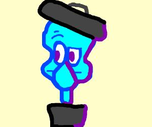 Squidward Trash
