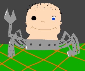Deformed Spider Baby Toy From Toy Story Drawing By Octoboy Drawception