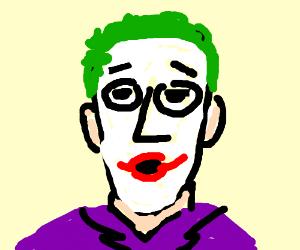 Joker with a uwotm8 face