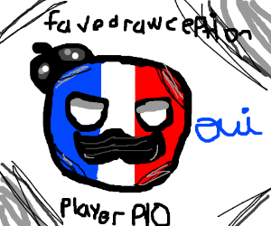 Favorite Drawception Player PIO