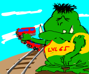 Image result for train troll