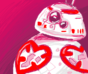 BB-8 Valentines Style