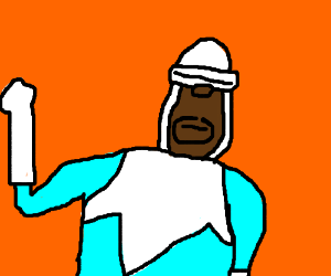 Where's my supersuit? - Drawception