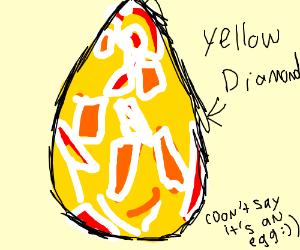 yellow diamond drawception