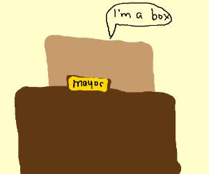box is mayor