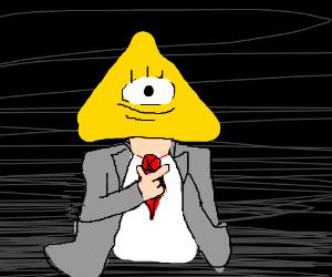 Illuminati man