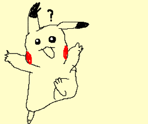 confused picachu