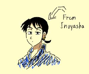 Miroku (from inuyasha)