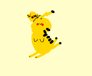 disabled pikachu - our king