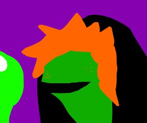 evil ginger kermit the frog