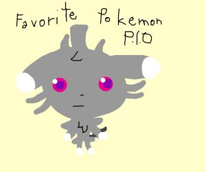 Favorite Pokemon PIO (Luxray)