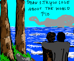Draw something you love about the world PIO