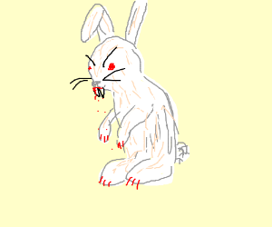angery rabbit