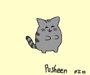 Create a pusheen cat P.I.O
