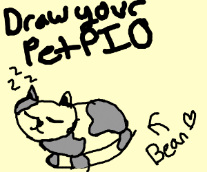 Draw your pet PIO
