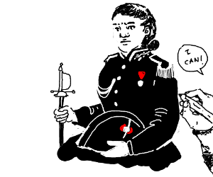 Can someone please draw a female Javert?