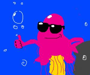Cool Dude Jellyfish