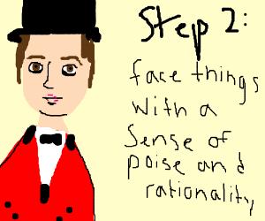 Step 1. CLOSE THE GODDAMN DOOR