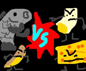 Fish and chips VS Mac 'n' cheese