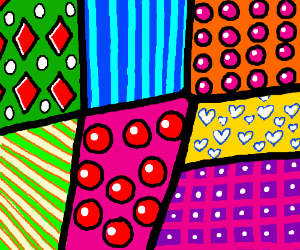 a bunch of patterns