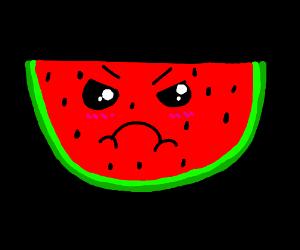 B-B-Baka watermelon!