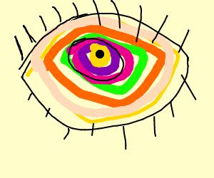 Foken reinbow eye