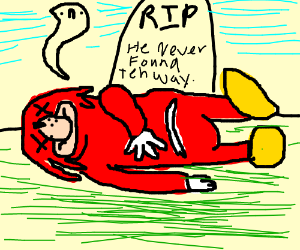 Knuckles dies today - Drawception
