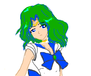 Sailor Neptune (From Sailor Moon the Anime)