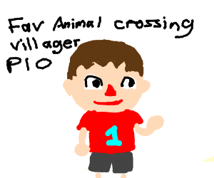 Favorite Animal Crossing Villager PIO